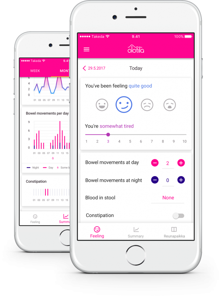 Free IBD tracker for Crohn's Disease and Ulcerative Colitis | Olotila